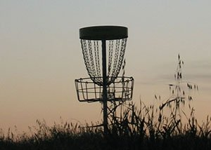 Disk Golf Player