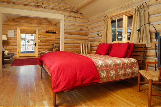 turpin meadow ranch cabin interior