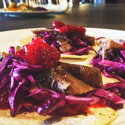 turpin meadow ranch dining goose tacos