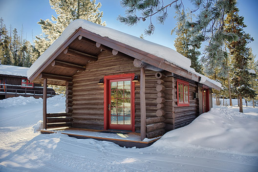 turpin meadow ranch winter cabins