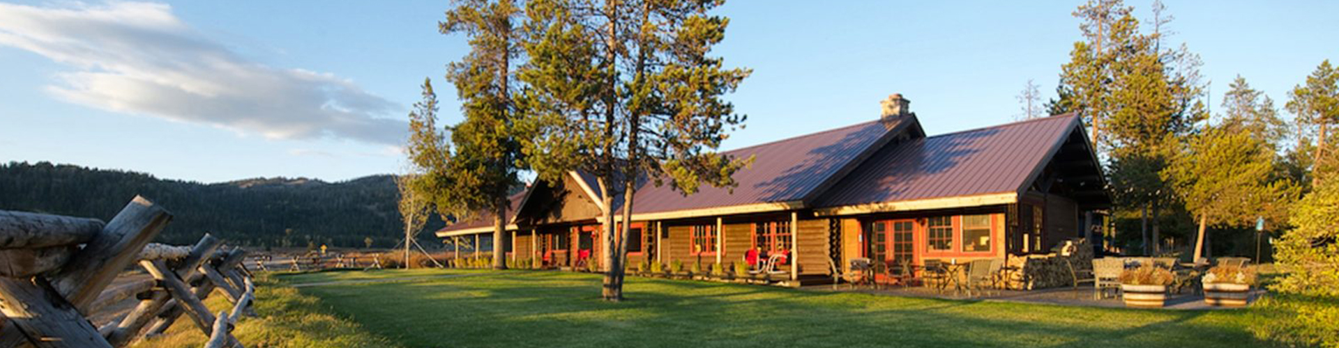 turpin meadow ranch lodge sunset