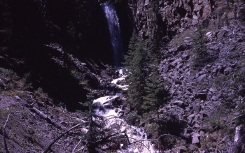 Lost Creek Falls, Yellowstone